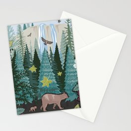 Little Bear Behind Stationery Cards