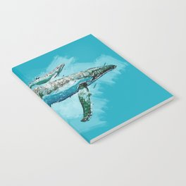 The beauty of a mothers love - Humpback Whales Notebook