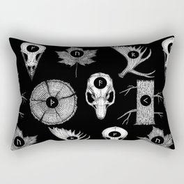 RUNES II Rectangular Pillow