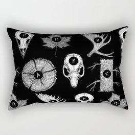 RUNES II Rectangular Pillow