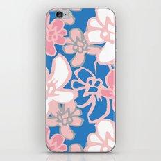 Camelia Woodcut iPhone & iPod Skin