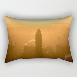 City Sunset Rectangular Pillow