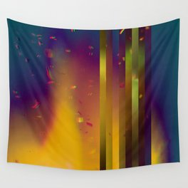 Paper Rain Wall Tapestry