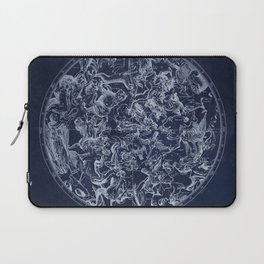 Vintage Constellations & Astrological Signs | White Laptop Sleeve