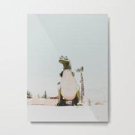 Dinosaur in Cabazon Metal Print