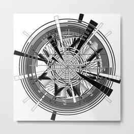 Clock Mechanisms Through The Ages Metal Print