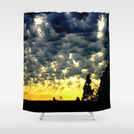 A new Day! Shower Curtain