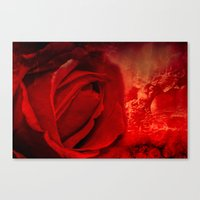 passion Canvas Prints featuring Passion by Loredana