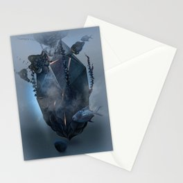 Warm stone Stationery Cards
