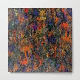Rain of Colour Shades Metal Print