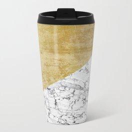 Marble vs GOld Travel Mug