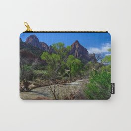 The_Watchman - Spring in Zion_National_Park, UT Carry-All Pouch