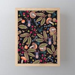 Autumn vibes Framed Mini Art Print