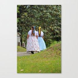Ladies Of Era Canvas Print