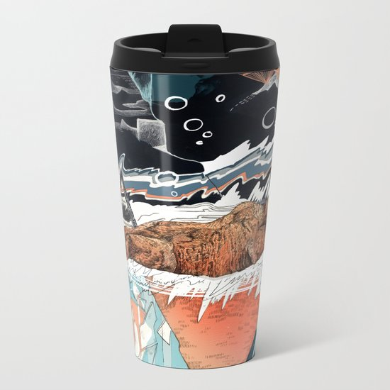 Seconds Behind Metal Travel Mug