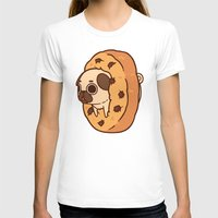 cookie T-shirts featuring Puglie Cookie by Puglie Pug