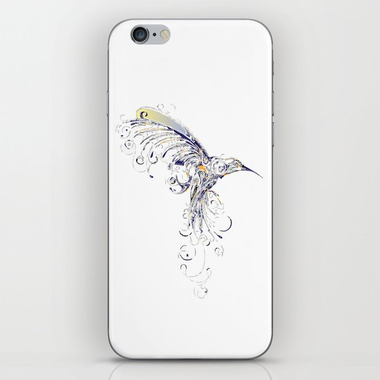 humming bird  iPhone & iPod Skin