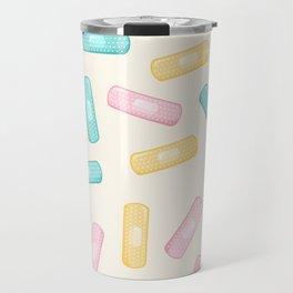 Pastel Plasters Travel Mug
