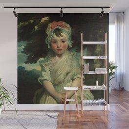 "Sir Joshua Reynolds ""Georgiana Augusta Frederica Elliott (1782–1813), Later Lady Charles Bentinck M"" Wall Mural"