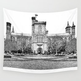 The Castle in Early Spring. Wall Tapestry