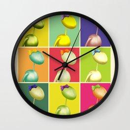 Warhol's AntWoman Wall Clock