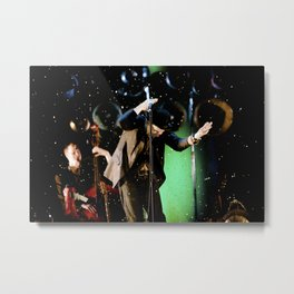 Tom Waits - Make it rain Metal Print
