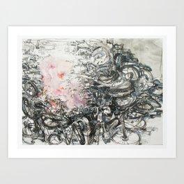 bomb c Art Print