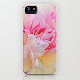 Joy of a Peony by Teresa Thompson iPhone Case