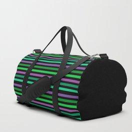 Horizontal bright stripes Duffle Bag