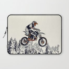 """High Flyer"" Motocross Racer Laptop Sleeve"