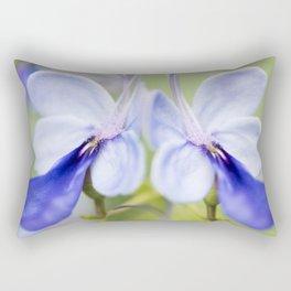 Blue Glory Bower Rectangular Pillow
