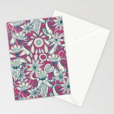 sarilmak pink blue Stationery Cards