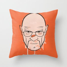Walter White - Breaking Bad Throw Pillow