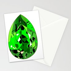 GEMS - green , expensive look , luxury and shine Stationery Cards