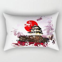 Japan Hirosaki Castle Rectangular Pillow