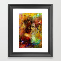 First time you looked at me Framed Art Print