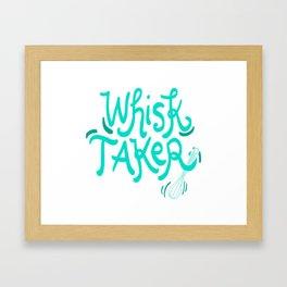 The Whisk Taker! - Gift Framed Art Print