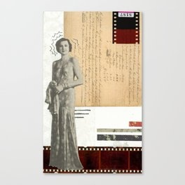 Film Diva Canvas Print