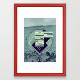 Project Nekton - Exploration #1 Framed Art Print