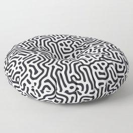 Withe Oblivion Floor Pillow