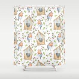 Fairytail Pattern #3 Shower Curtain