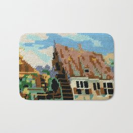 Found Tapestry Mill Bath Mat