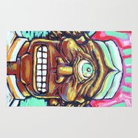 cyclops Area & Throw Rugs featuring CYCLOPS by M. Ali Kahn
