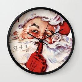 Santa20151101 Wall Clock