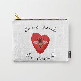 Love and Bee Loved Carry-All Pouch