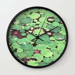 Nymphaeaceae Wall Clock