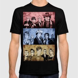 Doctor Who - Three Colours Who T-shirt