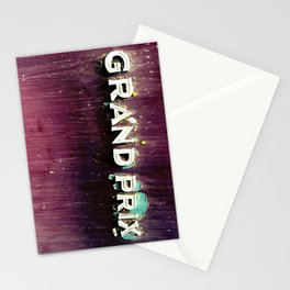 Grand Prix-American Muscle Classic Car Photography Stationery Cards