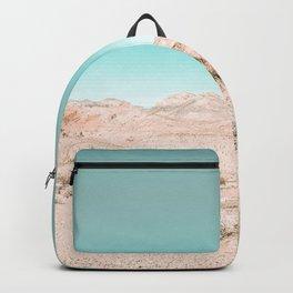 Vintage Desert Scape // Cactus Nature Summer Sun Landscape Photography Backpack