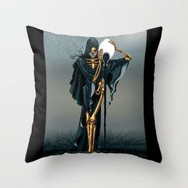 Revenge of Aquarius Throw Pillow